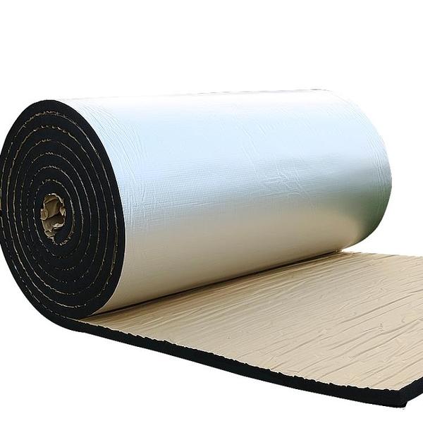 隔熱保溫棉隔音自粘耐高溫防火陽光房隔熱板屋頂樓頂彩鋼頂棚材料 快速出貨