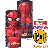 BUFF 121598_漫威授權-蜘蛛人 Junior Original青少年魔術頭巾 快乾圍巾/自行車領巾/排汗脖圍/海盜帽