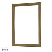 復古木框雙掛鏡-金色-50x70cm