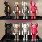 【暴力熊】mand kaws 創意暴力熊公仔手辦模型玩偶家居潮流酒柜裝飾品擺件