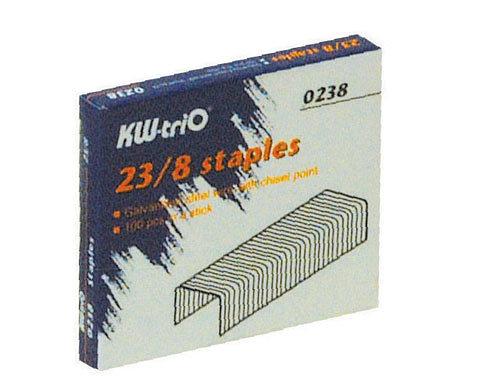 KW -trio 23/8 訂書針 #0238 / 盒