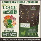 *WANG*【嘗鮮價】LOGIC自然邏輯天然糧《全犬種天然低敏鹿肉》4.4磅-低過敏源