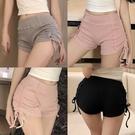 真理褲 衣服性感上鏡服裝復古氣質抽繩短褲運動熱褲子-Ballet朵朵