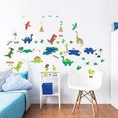 英國 Walltastic 童趣壁貼 恐龍
