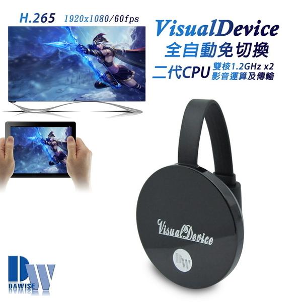 VisualDevice全自動雙核心無線影音鏡像器(送5大好禮)