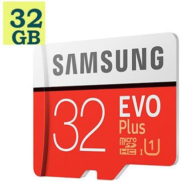 SAMSUNG 三星 32GB 32G microSDHC【95MB/s】EVO Plus microSD SDHC U1 C10 MB-MC32GA 手機記憶卡