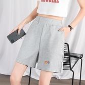 運動短褲女夏季寬鬆居家睡褲外穿休閒跑步五分褲薄款夏天