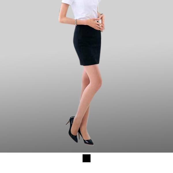 晶輝專業團體制服*CH019*OL族白領職業西裝裙 包臀工作裙 百搭一步裙 酒店女裙黑色西裝裙