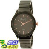 [105美國直購] Kenneth Cole Women s 女士手錶 New York 10026579 Black Stainless-Steel Quartz Watch