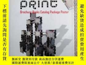 二手書博民逛書店VISURL罕見PRINT Brochure Books Catalog Package PosterY131