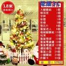 台灣24小時現貨【1.8米】聖誕樹 土城聖誕樹場景裝飾大型豪華裝飾品 【免運】