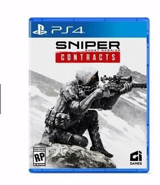PS4 狙擊之王 幽靈戰士 契約  Ghost Warrior Contracts 中文歐版 預購11/22