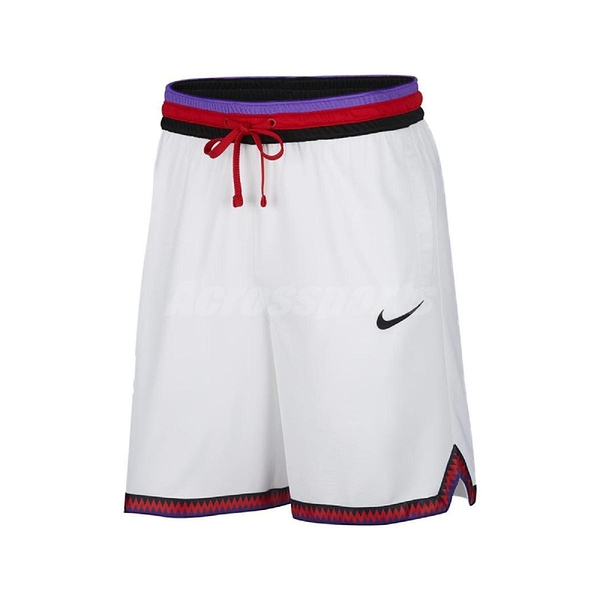 Nike 短褲 Dri-FIT DNA Basketball Shorts 白 彩色 男款 籃球褲 【PUMP306】 AT3151-102