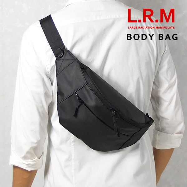 現貨配送【LRM】日本品牌 斜背包 側背包 腰包 單肩包 胸包 腳踏車包 男女共用款 機能包【190651】
