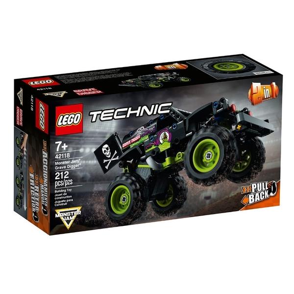 42118【LEGO 樂高積木】Technic 科技系列 - 怪獸卡車 Grave Digger