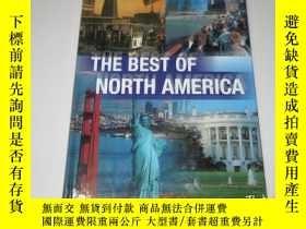 二手書博民逛書店the罕見best of north america(西班牙語畫
