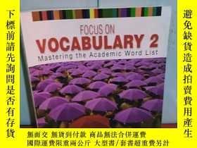 二手書博民逛書店罕見實拍;Focus on Vocabulary 2: Mast