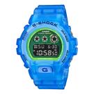 CASIO 卡西歐 手錶專賣店 DW-6900LS-2 G-SHOCK 半透明螢光材質 礦物玻璃 防水200米 耐衝擊構造