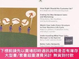二手書博民逛書店Harvard罕見Business Review On Strategic Sales ManagementY