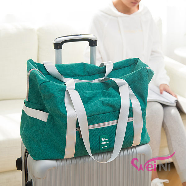 wei-ni 雙面斜紋WeekEight行李桿收納包 旅行收納包 旅遊整理袋 露營收納包 多功能萬用袋
