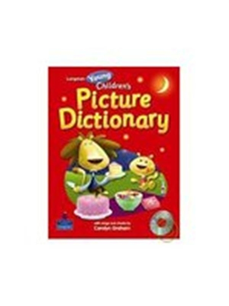 (二手書)Longman Young Children's Picture Dictionary (with CD)