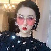 金屬框墨鏡GD權志龍墨鏡女潮 韓國太陽眼鏡李小璐同款墨鏡女 英雄聯盟