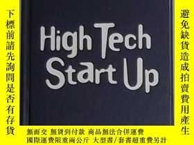 二手書博民逛書店英文原版罕見High Tech Start Up by John