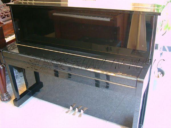 【HLIN漢麟樂器】-日本原裝kawai河合123號直立式中古二手鋼琴-原木-亮黑-豪華53