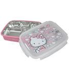 【HELLO KITTY】凱蒂貓304不鏽鋼隔熱餐盒-大臉 KS-8155
