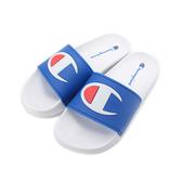CHAMPION 大C LOGO 運動拖鞋 白藍 UFLS-9030-06 男女同鞋 鞋全家福