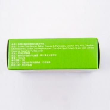 南僑水晶葡萄柚籽抗菌洗手皂1入