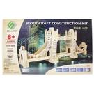 DIY木質3D立體拼圖 G-P055 倫敦塔橋/一個入(促199) 大4片入 四聯木質拼圖 木製模型 組合式拼圖-鑫