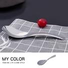 湯匙 頂級 304 環保餐具 爵士勺 勺子 廚房 咖啡  便當 餐廳 304不鏽鋼湯匙(小) 【P391】MY COLOR