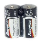 Energizer勁量2號電池C電池鹼性電池(收縮2入)
