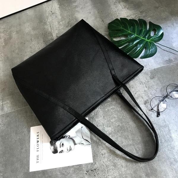 托特包-單肩包女2021新品防水手提包大包包學生書包大容量休閒托特包