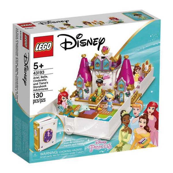LEGO 樂高 43193 Ariel,Belle,Cinderella,Tiana's Storybook Adventure 玩具反斗城