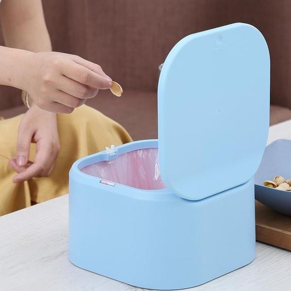 小垃圾袋桌面垃圾桶小號家用迷你拉極級加厚袋子 叮噹百貨
