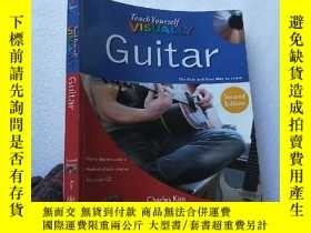 二手書博民逛書店Teach罕見Yourself VISUALLY Guitar
