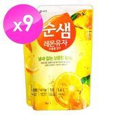 【韓國AK】全植物檸檬酵素洗潔液 1.4KGX9入