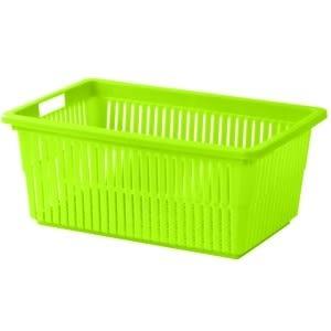 【好市吉居家生活】嚴選聯府KEYWAY~ LU-02 名廚中深型籃 瀝水籃 置物籃