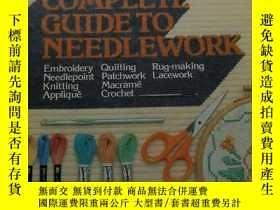 二手書博民逛書店Readers罕見Digest Complete Guide to Needlework(讀者文摘刺繡完全指南;英