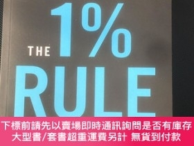 二手書博民逛書店The罕見1% Rule how to fall in love with the process and ach