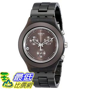 [美國直購] Swatch Men s SVCC4000AG Plastic Analog with Brown Dial Watch 手錶