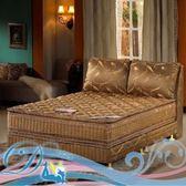 羅馬假期金鑽六線獨立筒床墊6尺