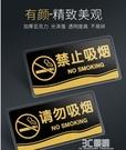 壓克力男女廁所洗手間衛生間指示標識標志門牌小心碰頭玻璃牌貼 3C優購