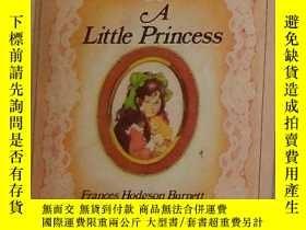 二手書博民逛書店英文原版罕見A Little Princess by Franc