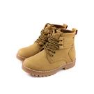 HABU 馬丁鞋 高筒鞋 綁帶 黃色 童鞋 RR99-YL no023