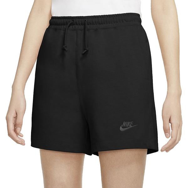 NIKE NSW SHORT JRSY 黑 女 刺繡小LOGO 休閒 運動褲 CJ3755010