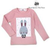 兔子圖案粉色長袖棉T  [15149] RQ POLO 小女童 秋冬童裝