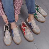 低筒原宿帆布鞋男超火的鞋子學生正韓板鞋休閒港風男鞋【寶貝開學季】